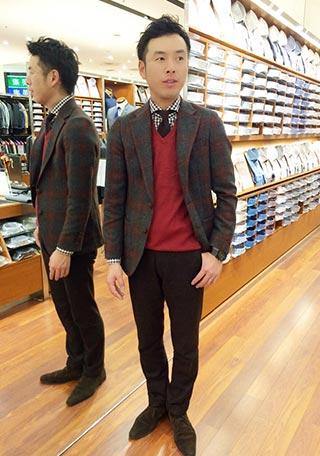 スーツセレクトビジネスカジュアル1