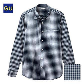 GUチェックシャツ3