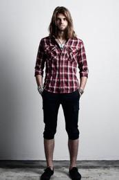 マージンチェックシャツコーデ3