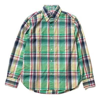 シュガーケーンチェックシャツ3