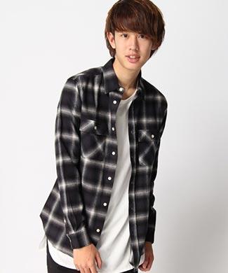 WEGOチェックシャツ1