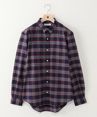 SHIPSチェックシャツ2