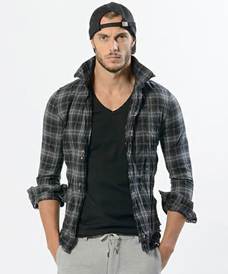 wjkチェックシャツ2