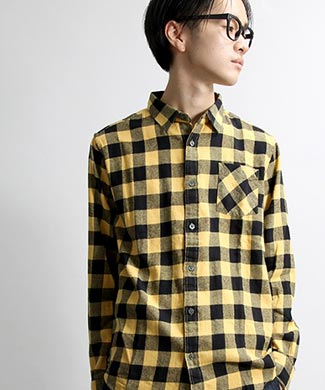 WEGOチェックシャツ2