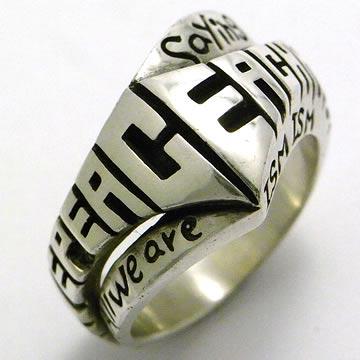ビッグブラックマリア指輪3
