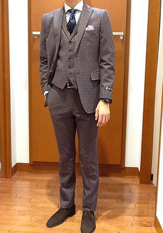 パーフェクトスーツファクトリースーツコーデ2