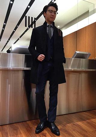 スーツセレクトスーツ着こなし6