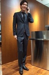 スーツセレクトスーツ着こなし2