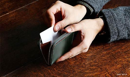 土屋鞄カードケース1