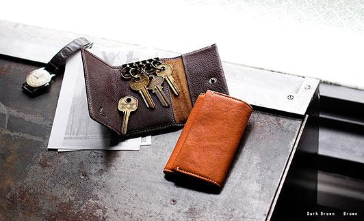 土屋鞄キーケース3