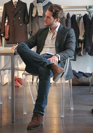 ブーツの着こなし (4)