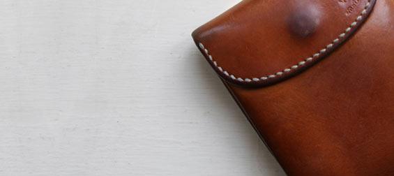 エイジング財布