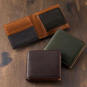 二つ折り財布(シルキーキップ)