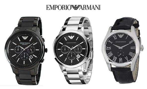 アルマーニ腕時計メンズ