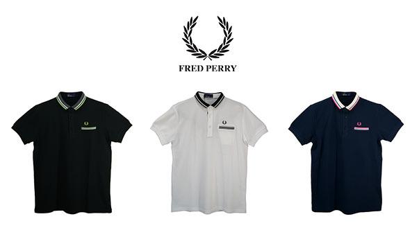 フレッドペリーポロシャツ2