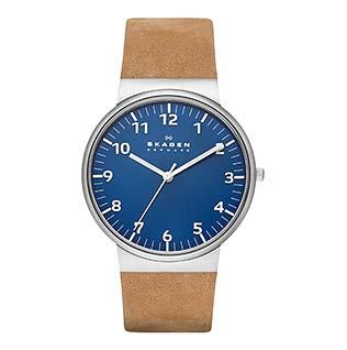 スカーゲン青腕時計