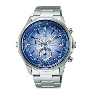 ワイアード青腕時計