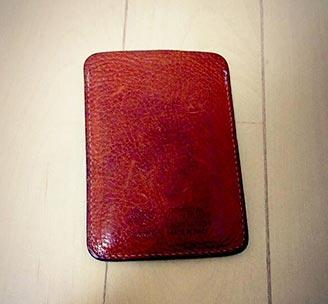 イルビゾンテ財布エイジング3