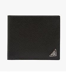 プラダ二つ折り財布1