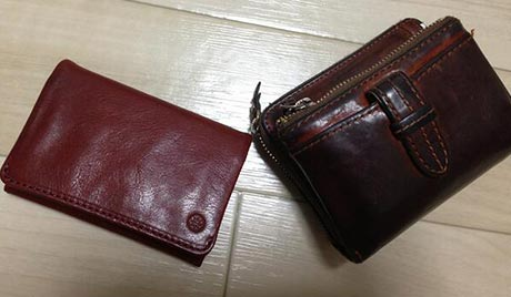 ダコタ財布エイジング2