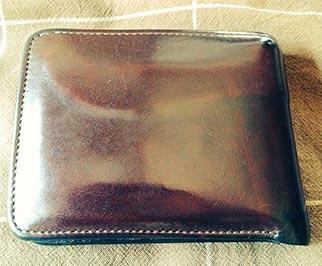 ワイルドスワンズ財布エイジング2
