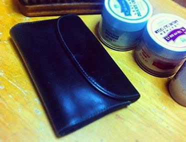 ホワイトハウスコックス財布エイジング2