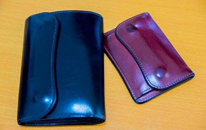 ワイルドスワンズ財布エイジング1