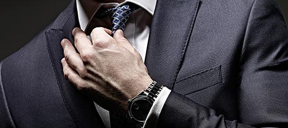 スーツ腕時計