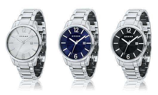 クロス腕時計1