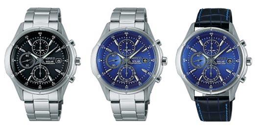 ワイアード腕時計3