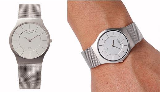 スカーゲン腕時計1