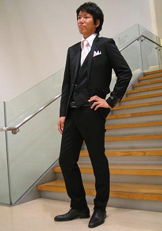 スーツセレクトフォーマルスーツコーデ6