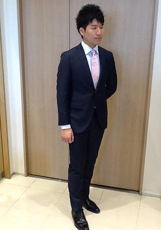 新入社員ネクタイコーデ4