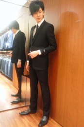 スーツセレクトフォーマルスーツコーデ3