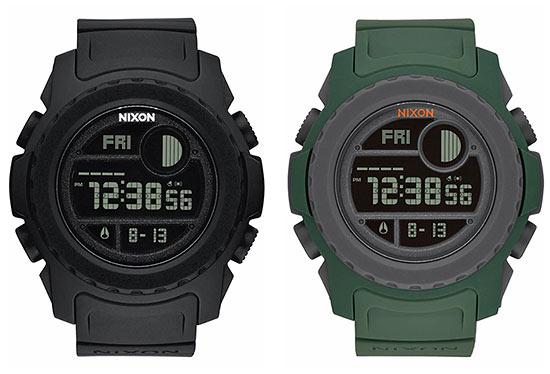 "9ae13a9098 おしゃれでタフな休日腕時計。  ニクソンがストイックに""丈夫さ""を追求したモデル。耐衝撃性に優れた構造であり随所に耐久性素材を採用し、バッテリー寿命は従来モデル ..."