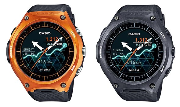 カシオ「Smart-Outdoor-Watch-WSD-F10」