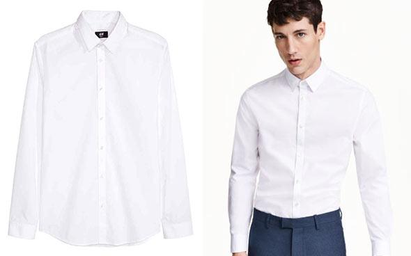 H&Mワイシャツ