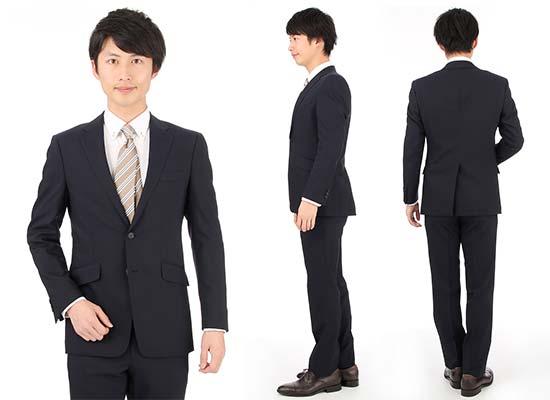 青山就活スーツ1