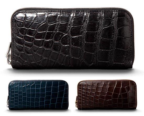 アニアリ-クロコダイル財布