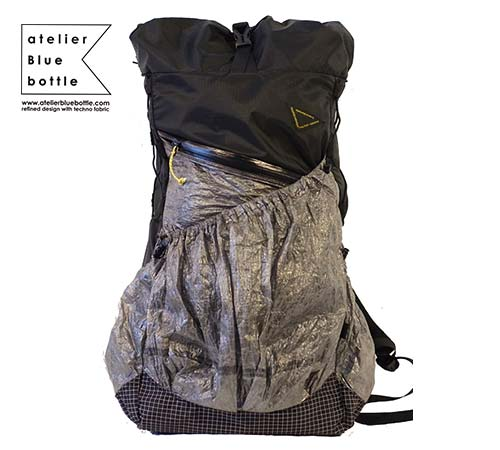 289977846c 東京で2013年にスタート。10年以上に渡りバッグ業界で活躍してきたデザイナー2人により、ウルトラライトのバックパックや小物を一貫して製作。