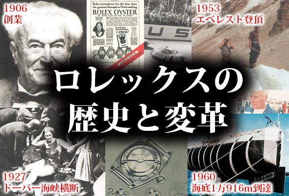 ロレックス歴史