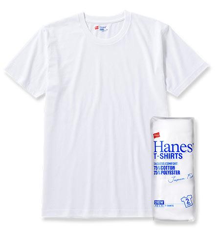 HANESTシャツ1
