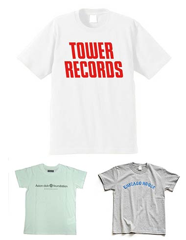 タワーレコードTシャツ1