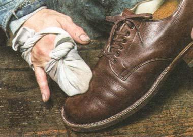 革靴 メンテ