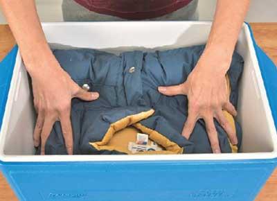 ダウンベスト洗濯3