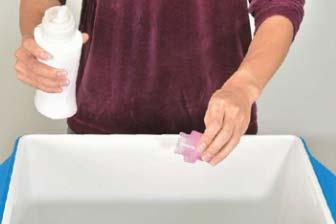 モッズコート洗濯準備1