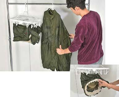 モッズコート 洗濯10