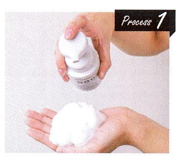 男性 洗顔方法