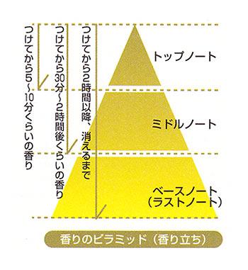 香りのピラミッド