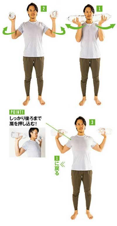 Tシャツが似合う筋トレ2